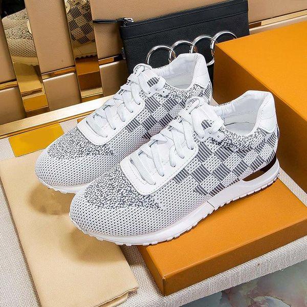 tasarımcıLOUISVUITTONYeni Erkek Ayakkabı Sneakers Lüks Chaussures Moda Tipi Run Away Sneaker Erkekler Rasgele Zapa Ayakkabı pour hommes