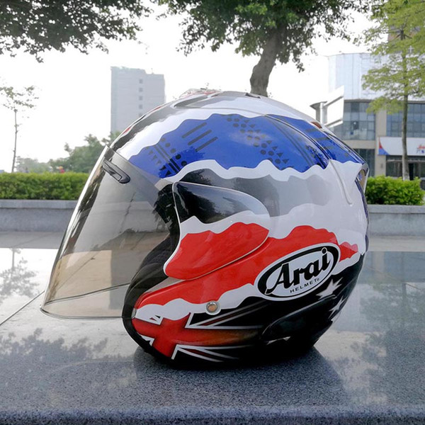Arai Hot sale Doohan open face helmet Unisex motorcycle helmet half helmet casque in summer fall season