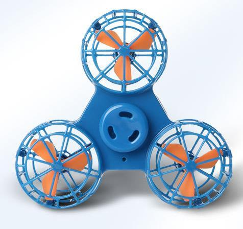 Flying Gyroscope Aerial Gyroscope Decompression Artifact Hand-to-Hand Flying Rotary Finger Tip Toy