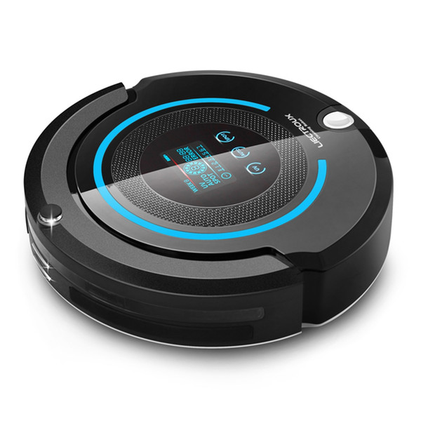top popular LIECTROUX A338 LCD touch screen Intelligent Cleaning Robot Sweeper Robotic Vacuum Cleaner with Superior suction performance 2021