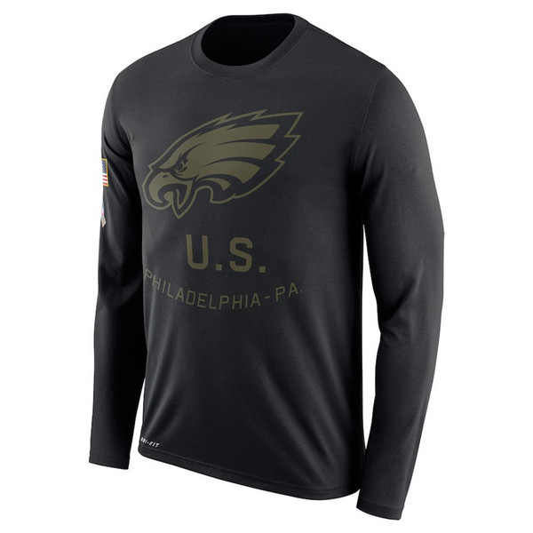 innovative design b22eb b01da 2019 Philadelphia Eagles Salute To Service Sideline Legend Performance Long  Sleeve T Shirt Olive From Hotjersey01, $32.49 | DHgate.Com