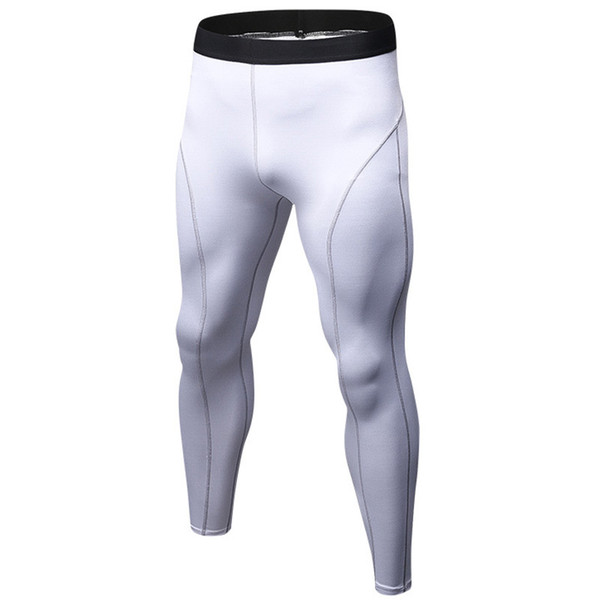 Men Compression Pants Joggers Skinny Leggings Long Pants Mens Sweatpants Tights Breathable Quick Dry Man MMA Trousers