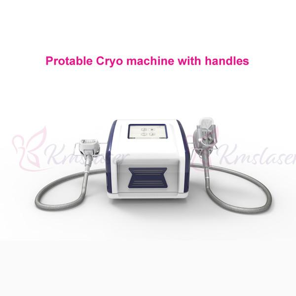 Prezzo di fabbrica con 4 maniglie Touch Screen Dimagrante Fat Freezing Liposuction Freeze Dissolve la macchina per cellulite