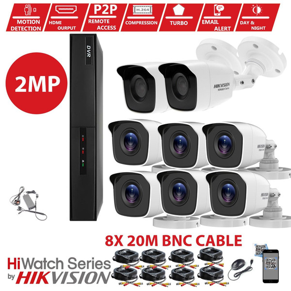 2019 Details About Hikvision CCTV KIT 4CH 8CH Full HD 1080P Night Vision  DVR Home Security System From Zhudiz59495, $21 0 | DHgate Com