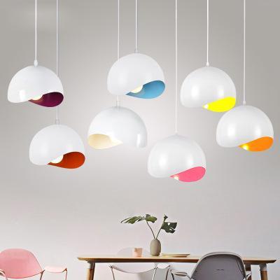 Lampade a sospensione moderna soffitto E27 Ciondolo portato luce della cucina accessorio Living Room Restaurant Sospensione Sospensione illuminazione 20CM