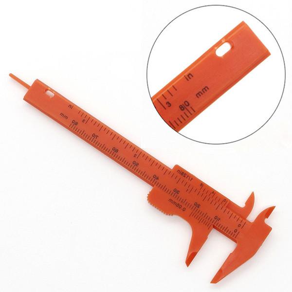 Измерительные инструменты из пластика 8 см Длина Штангенциркуль пластиковый штангенциркуль Мини штангенциркуль Штангенциркуль малый суппорт T9I0052