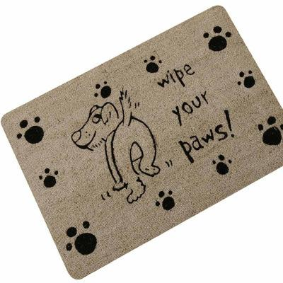 Cute Naughty Dog Cat Entrance Doormat Home Decorative Door Mats Funny Welcome Floor Mats Front Porch Rugs Foot Pad TapeteGYR13 C18113002