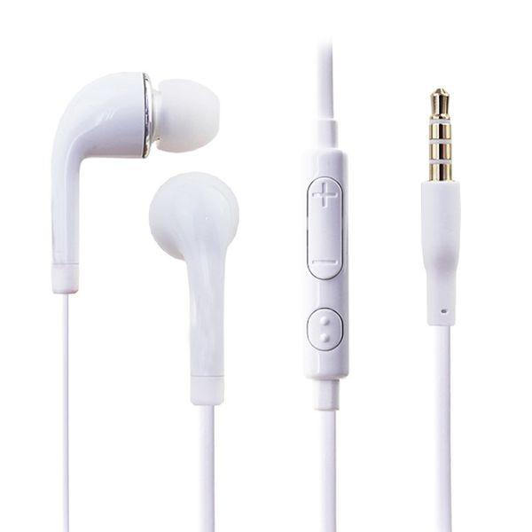 J5 Stereo Kopfhörer 3.5mm In-Ear Flat Nudel Kopfhörer Headset mit Mikrofon und Fernbedienung für Galaxy S4 S5 S6 S7 warten