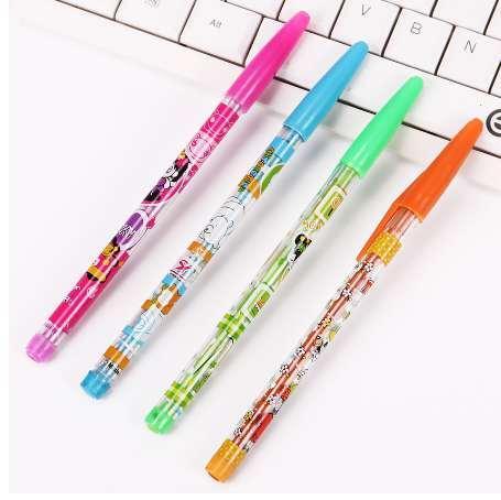 Acheter Diy Mignon Kawaii Fille Panda Crayon Hb Transformation Gratuite En Plastique Crayon Pour Croquis Dessin Peinture Fournitures De 754 Du