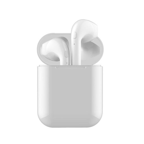 I8x Mini TWS Sem Fio Bluetooth Fone de Ouvido Fones De Ouvido Estéreo Fone De Ouvido Magnético Com Caixa De Carregamento Mic Para O Telefone não Airpods
