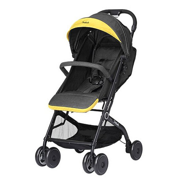 Ceinture de sécurité à cinq points Baby Cart Kids Child Baby Pliable antichoc à quatre roues Absorption Design poussette Chariot Grand espace