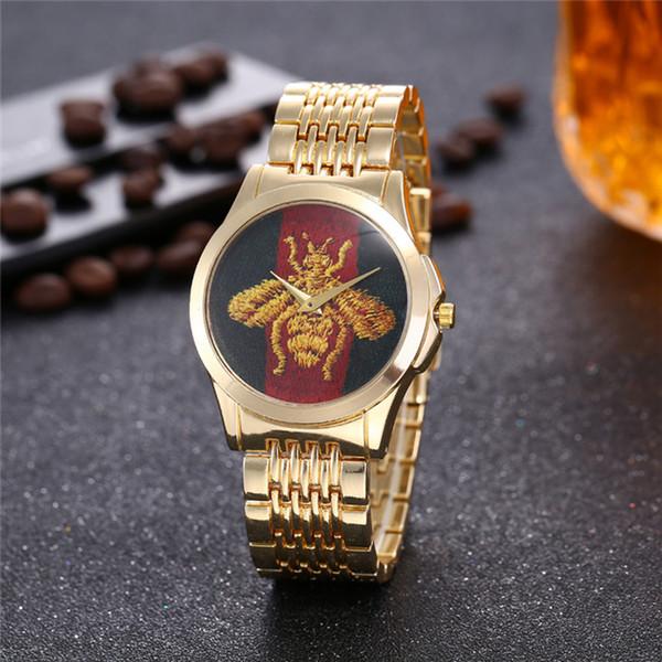 Ultra thin rose gold woman diamond flower watches brand luxury nurse ladies dresses female Folding buckle wristwatch gifts for girls