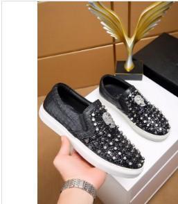 Nouveau nom de concepteur de marque Man Chaussures Casual Flat Kanye West Mode ridée Baskets à lacets en cuir Low Cut Runaway Arena Chaussures 01004067