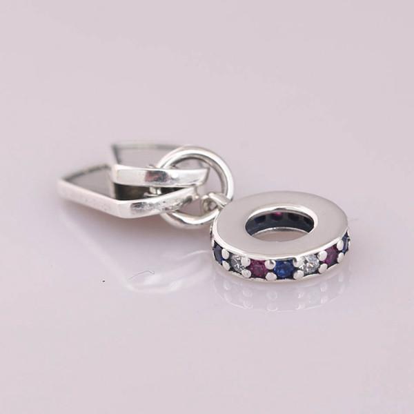 Charms dangle originali 925 sterling silver fits pandora style jewelry bracelet Hero Dog Tag 797659CZRMX H8