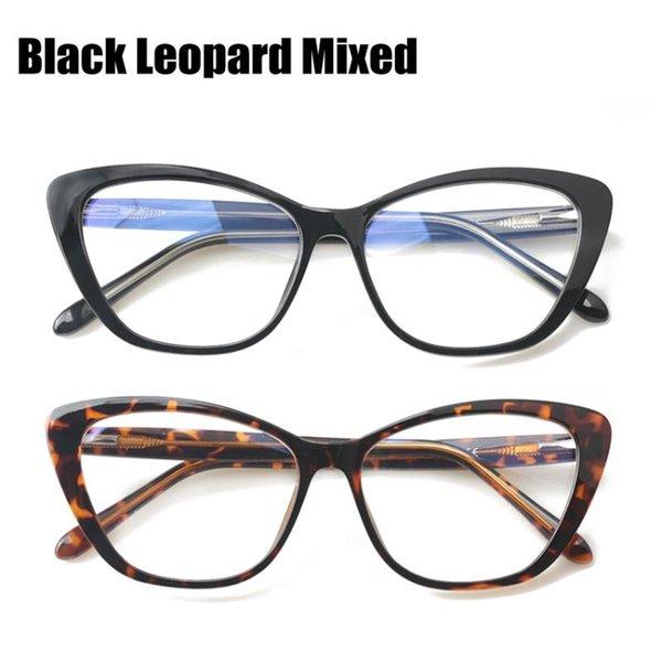 Mezcla de leopardo negro