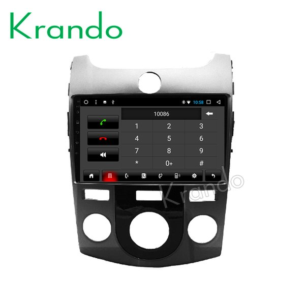 "Krando Android 8.1 9"" IPS Big Screen Full touch car Multimedia system for KIA K2 2011-2016 / RIO 2012-2016 radio player gps BT car dvd"