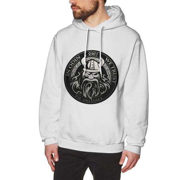 Get in Odin Wir vertrauen Hoodies Valhalla Collection Langarm-Junge 3D-Sweatshirt Sweatshirt 100% Baumwolle