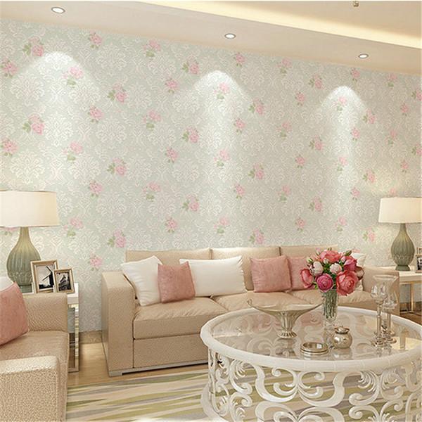 Acheter Belle Rose Fleur 3d Papier Peint Decoration De La Maison 3d Papier Peint Decoration De La Maison Pas Cher Papier Peint En Gros De 3 12 Du