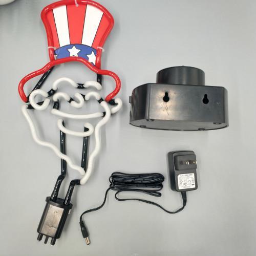 Neonraumdekor führte LED-Nachtlampen-Batterie-Neonlicht-Zeichen-Wand-Flamingo / Weihnachtsbaum-Kinderlicht 2019
