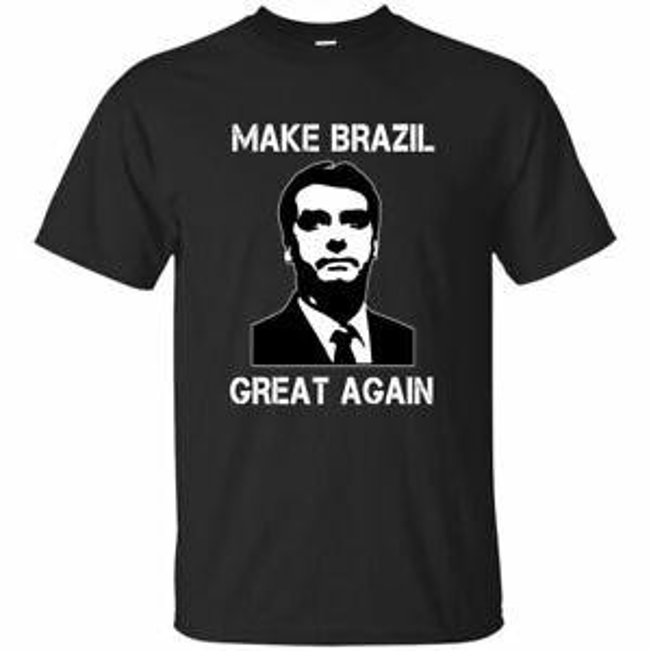 Bolsonaro Presidente Gömlek, Bolsomito Tişört Erkek Kadın BlaSummer Donanma