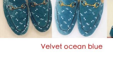 Velvet ocean blue