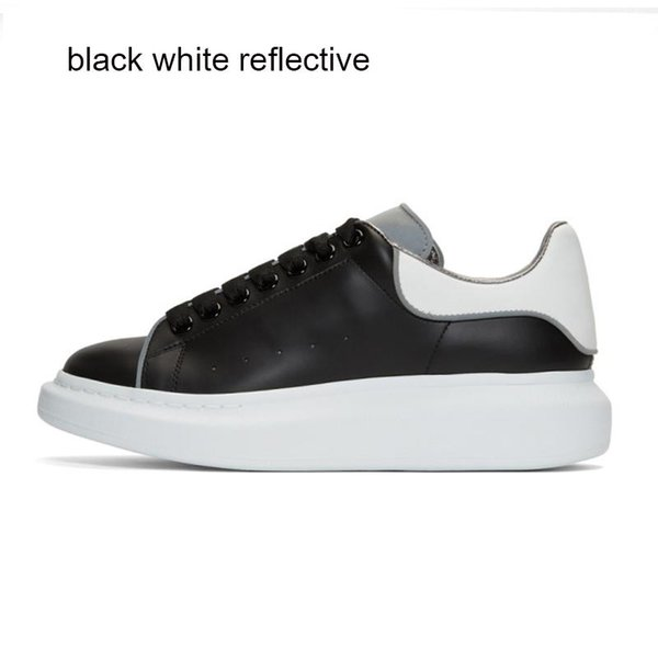 Black White Reflective