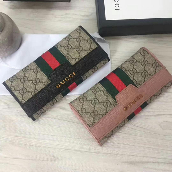 2019 297 (002A) moda carteira longa MULHERES WALLET CADEIA CARTEIRAS PURSewomen Bolsa Ombro Totes Mini Bag Embreagens Exotics