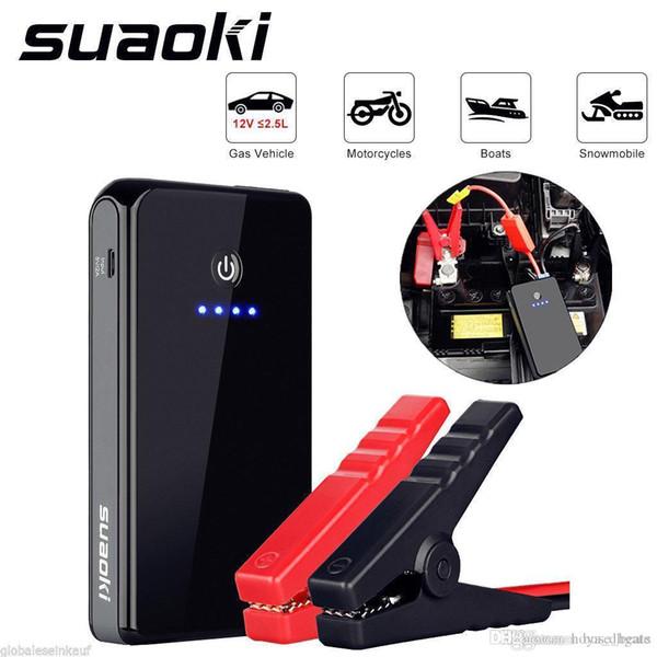 2017 12V 8000 mAh voiture Jump démarrage Booster Portable chargeur de batterie Power Bank LED pack Livraison gratuite