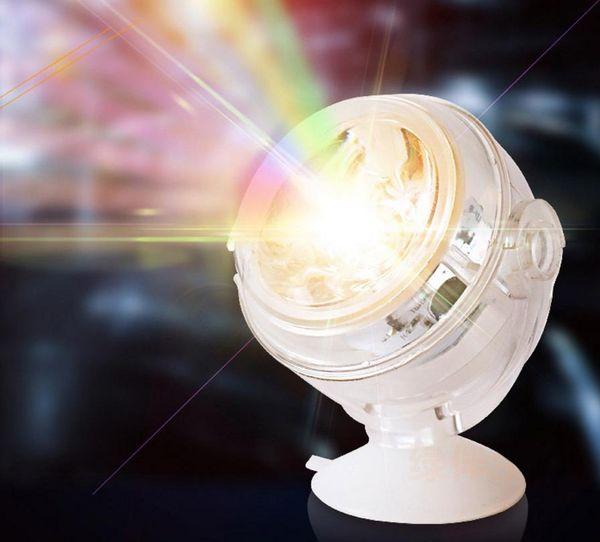 Foco de buceo con tanque de peces LED 1W ahorro de energía iluminación del acuario luz nocturna USB impermeable decorativa colorida agua hierba lámpara caliente selll