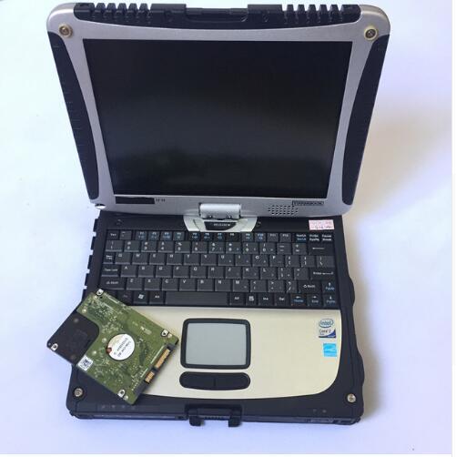 la più nuova riparazione automatica del disco 1.5dB di alldata mitchell installata nel computer diagnostico del computer portatile touch screen cf19 per auto e camion