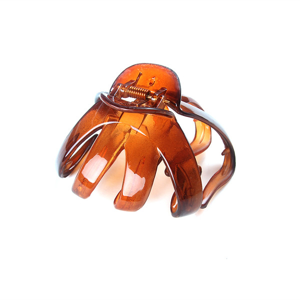 New Fashion Girls Hairpin Hair Crab Clamp Claw Plastic Hair Clips for Women Barrettes for Women Accessories 686