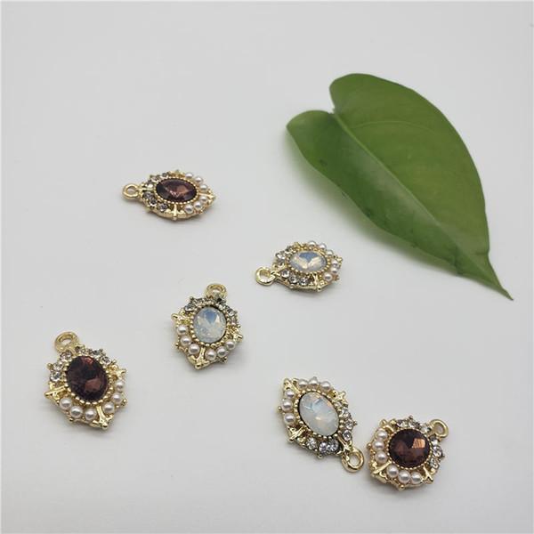 Мода падение ожерелье кулон Неувядаемый 18k золото украшения применимый ожерелье кулон серьги кулон брелок