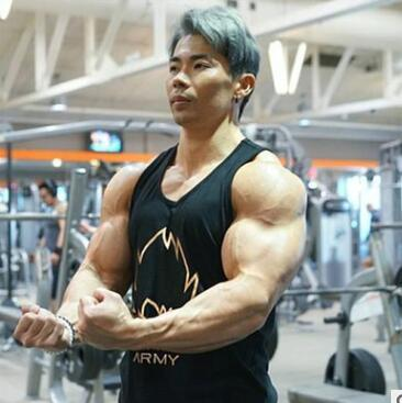 2019 Mens Sleeveless Tank Tops Summer Cotton Male Tank Tops gyms Clothing Bodybuilding Undershirt Golds Fitness vest