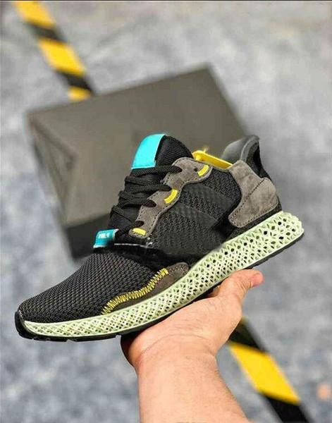 Wholesale Mens ZX4000 Futurecraft 4D running shoes for Women ZX 4000 Designer Sneakers Sports Trainer haussures -14