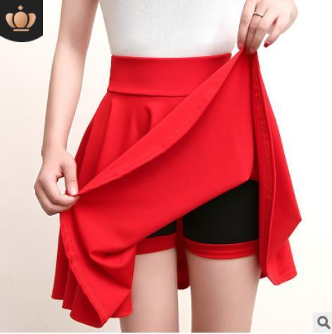 b3bb0139bd 2019 Plus Size Mini Shorts Skirts Women 2019 Vintage A Line High ...