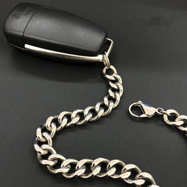 Pure vita titanio denim chiavi a catena a catena appese le chiavi della macchina creativi incatenano catene domestico della catena anticaduta non magnetici