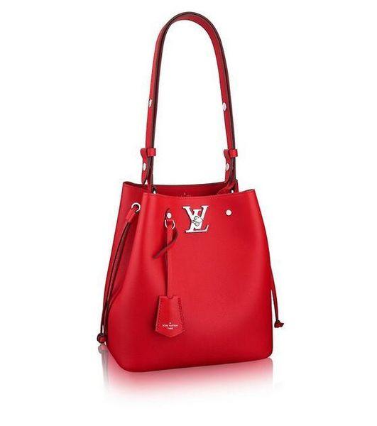 M54679 Lockme Bucket WOMEN HANDBAGS ICONIC BAGS TOP HANDLES SHOULDER BAGS TOTES CROSS BODY BAG CLUTCHES EVENING