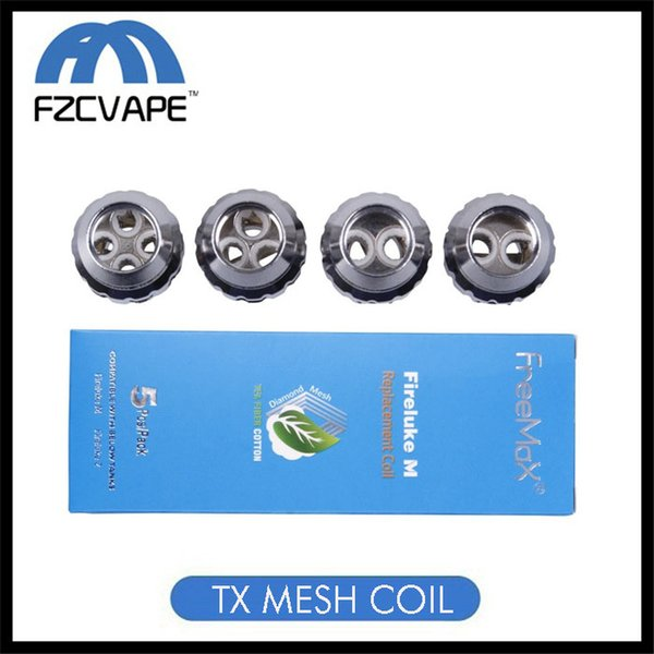 Authentic Freemax TX Mesh Coil Fireluke M Tea Fiber Cotton TX1 TX2 TX3 TX4 TNX2 Core for Fireluke 2 Tank Twister 80W Kit