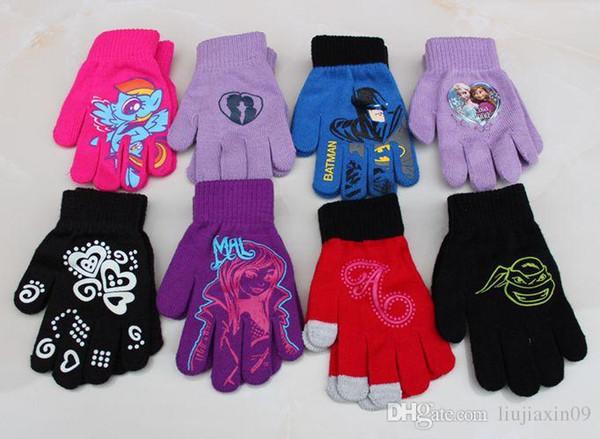 innovative design huge sale hot product Kids Magic Gloves Baby Winter Gloves Fashion Children Knitted Glove Toddler  Winter Warm Accessories Children'S Finger Gloves Bike Gloves For Kids ...