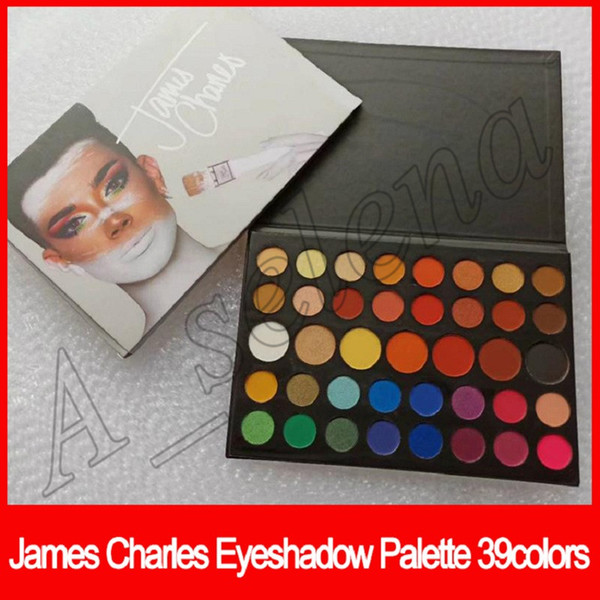 2018 New Eyes Makeup James Charles Eye Beauty Colors Natural Long-lasting 39 Colors matte shimmer Eyeshadow Palette