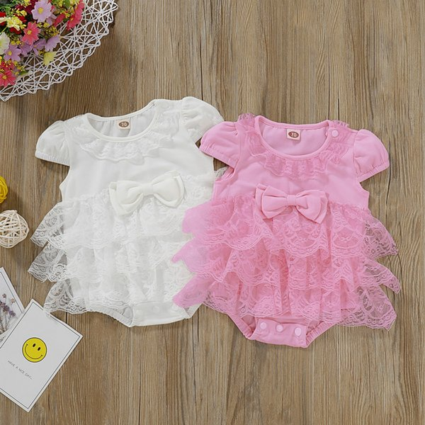Fashion Newborn Infant Baby Bibs Girls Cute Tutu Short SParty Lace Solid Bowknot Romper Jumpsuit Outfits Children Clothing Fashion Newborn Infant Baby Bibs Girls Cute Tutu Short SParty Lace Solid Bowknot Romper Jumpsuit Outfits Children Clothing