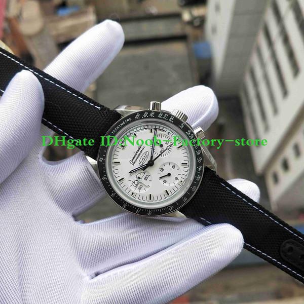 Versão Super Factory Chronograph Manual Movimento do vento Lançado série Snoopy de 42 mm 311.32.42.30.04.003 homens de relógios Super-LumiNova luminous