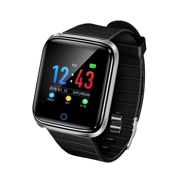D28 fitbit smart watch erkekler ip67 su geçirmez bilezik kalp hızı monitörü egzersiz izci basınç spor band smartwatch