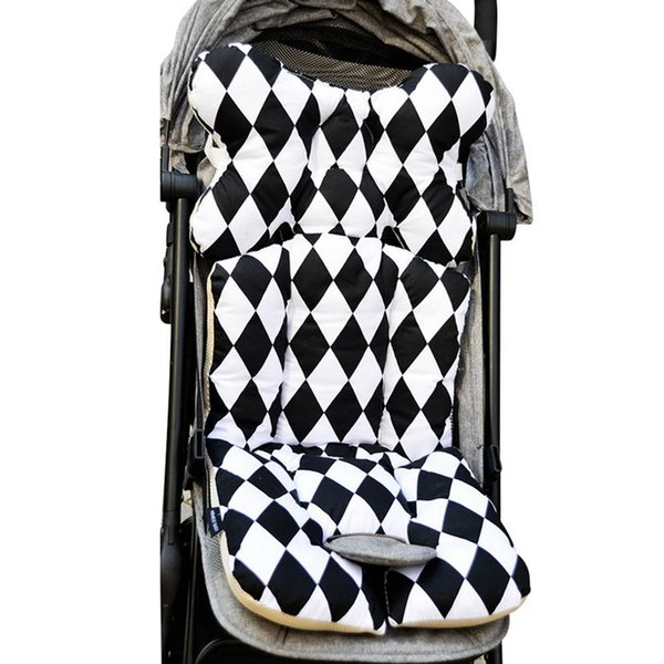 Baby Printed Stroller Pad Seat Warm Cushion Pad mattresses Pillow Cover Child Carriage Cart Thicken Trolley Chair CushionS