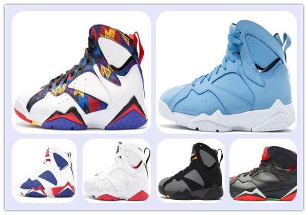 Barato vii 7 pantone lebre funileiro alternativo tênis de basquete olímpicos 7 s botas de esportes atletismo sneaker dos homens sapatos de treinamento de moda caindo