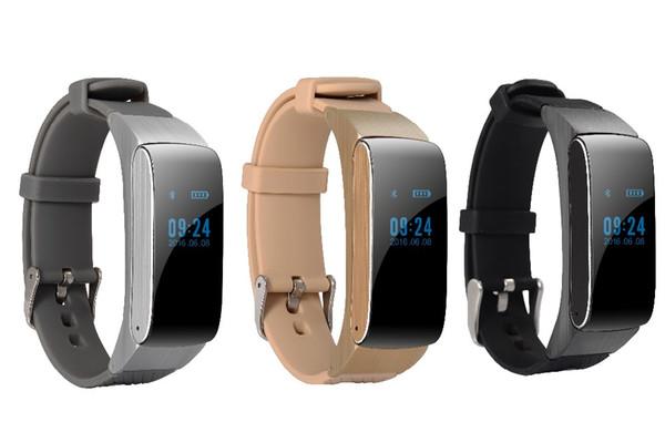 Bluetooth Smartband DF22 Умный браслет Часы HiFi Звук Гарнитура Цифровые наручные калории Шагомер Трек Фитнес-монитор сна