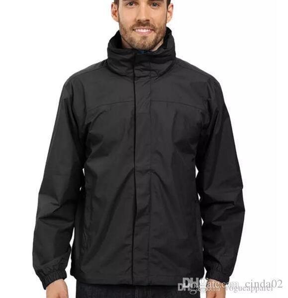 Mens Outdoor Sport Jacket Hot Sale Spring Autumn New Male Windbreaker Zipper Waterproof Coats Men Fashion Hooded Jackets