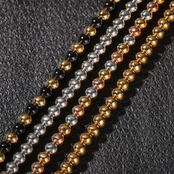 18 pulgadas de Longitud-Varios Colores 10 Collares 1,5 mm bola Cadena Collares