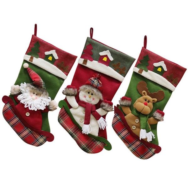 Help With Christmas.Christmas Big Socks Christmas Tree Pendant Children S Gift Candy Bag Help With Christmas Toys Top 10 Christmas Toys From Zzkhpr 12 57 Dhgate Com