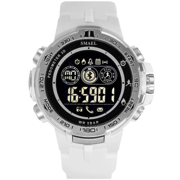 Fashion Digital Watch SMAEL Smart Watch Bluetooth Men Sports Watches Men LED Digital Watches 50M Waterproof Relojes Hombre 8012